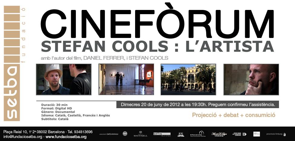 CINEFORUM Documental Stefan Cools lartista(1)